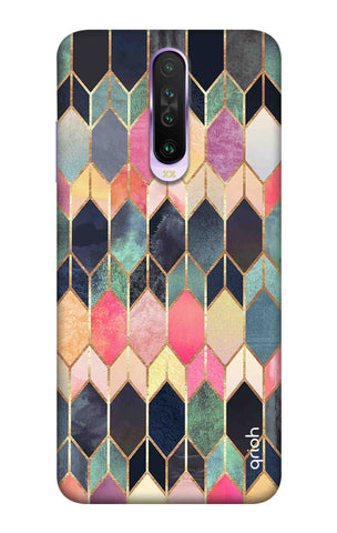 Colorful Brick Pattern Case Xiaomi Redmi K30 Pro Cases & Covers Online