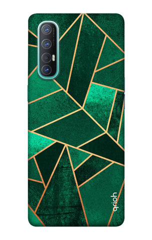 Emerald Tiles Case Oppo Reno 3 Pro Cases & Covers Online
