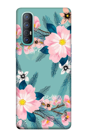 Graceful Floral Case Oppo Reno 3 Pro Cases & Covers Online