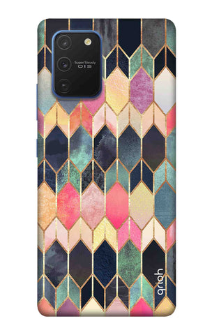 Colorful Brick Pattern Case Samsung Galaxy S10 lite Cases & Covers Online