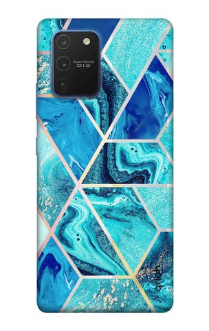 Aquatic Tiles Case Samsung Galaxy S10 lite Cases & Covers Online