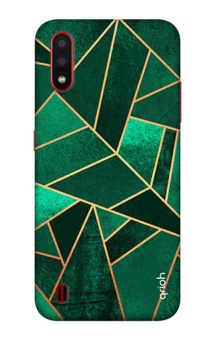 Emerald Tiles Case Samsung Galaxy A01 Cases & Covers Online