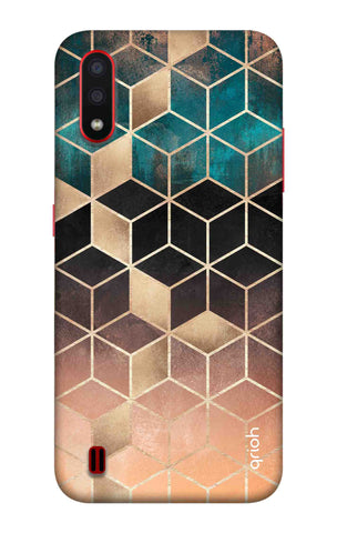 Bronze Texture Case Samsung Galaxy A01 Cases & Covers Online
