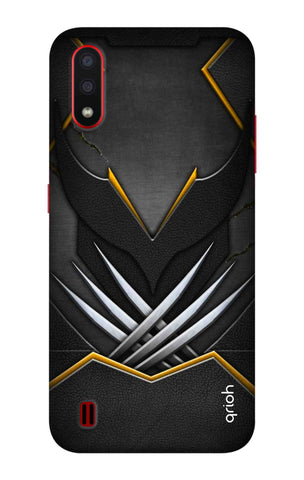 Black Warrior Case Samsung Galaxy A01 Cases & Covers Online
