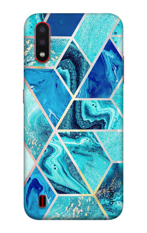 Aquatic Tiles Case Samsung Galaxy A01 Cases & Covers Online
