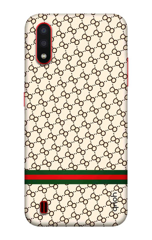 Luxurious Pattern Case Samsung Galaxy A01 Cases & Covers Online