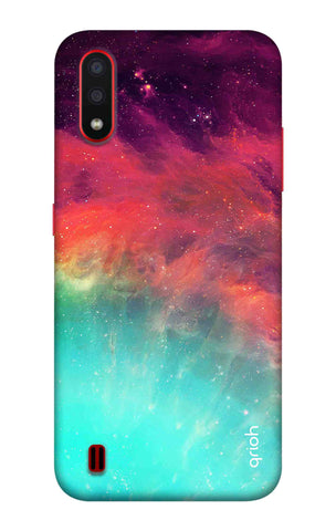 Colorful Aura Case Samsung Galaxy A01 Cases & Covers Online