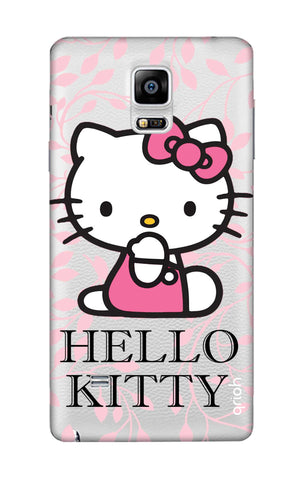 Hello Kitty Floral Samsung Note Edge Cases & Covers Online