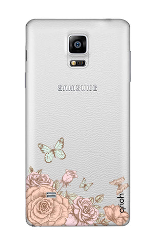 Flower And Butterfly Samsung Note Edge Cases & Covers Online
