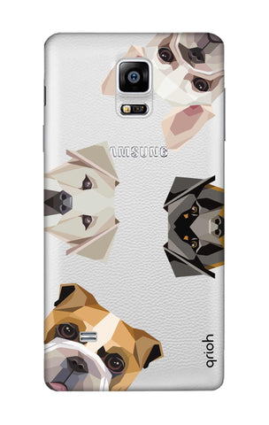 Geometric Dogs Samsung Note Edge Cases & Covers Online