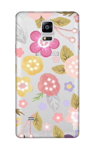 Multi Coloured Bling Floral Samsung Note Edge Cases & Covers Online