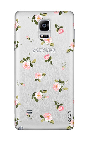 Pink Rose All Over Samsung Note Edge Cases & Covers Online