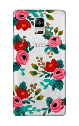 Red Floral Samsung Note Edge Cases & Covers Online