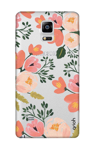Painted Flora Samsung Note Edge Cases & Covers Online