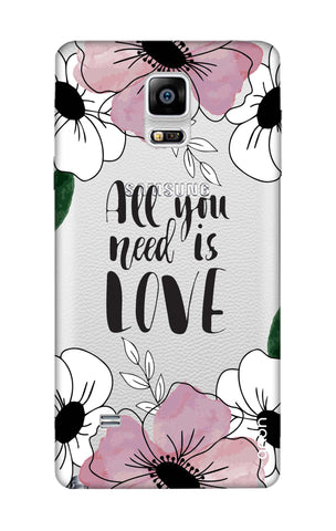 All You Need is Love Samsung Note Edge Cases & Covers Online