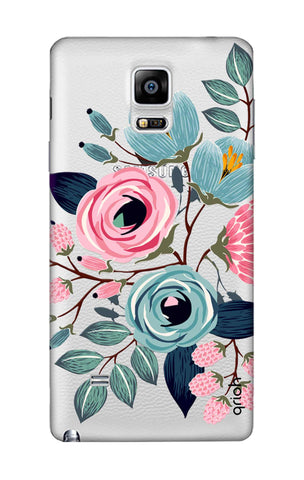 Pink And Blue Floral Samsung Note Edge Cases & Covers Online