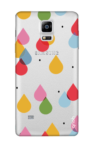 Colourful Drops Samsung Note Edge Cases & Covers Online