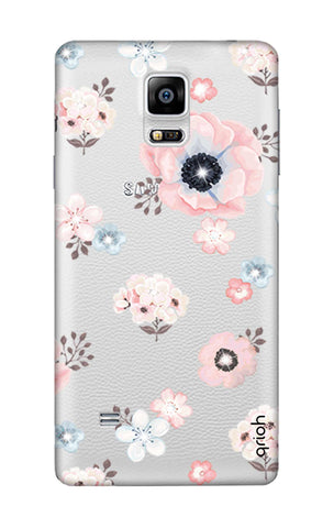 Beautiful White Floral Samsung Note Edge Cases & Covers Online