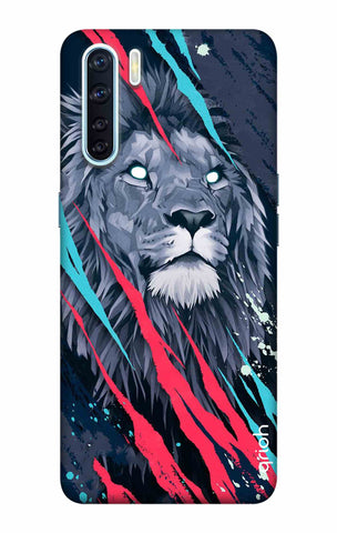 Beast Lion Oppo F15 Cases & Covers Online