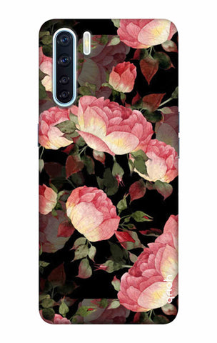 Watercolor Roses Oppo F15 Cases & Covers Online
