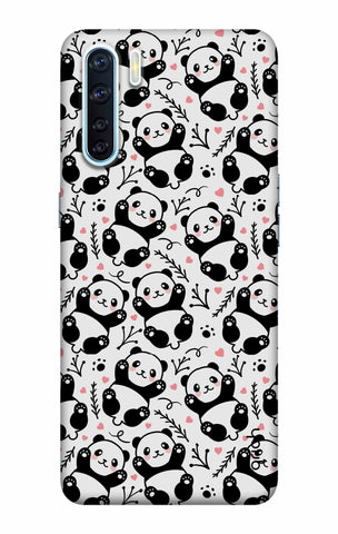 Adorable Panda Case Oppo F15 Cases & Covers Online