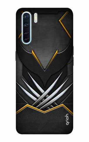 Black Warrior Case Oppo F15 Cases & Covers Online
