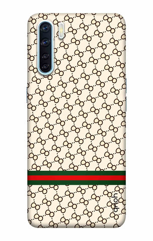 Luxurious Pattern Case Oppo F15 Cases & Covers Online