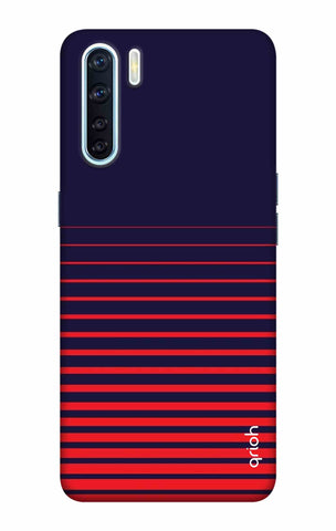 Ascending Stripes Case Oppo F15 Cases & Covers Online