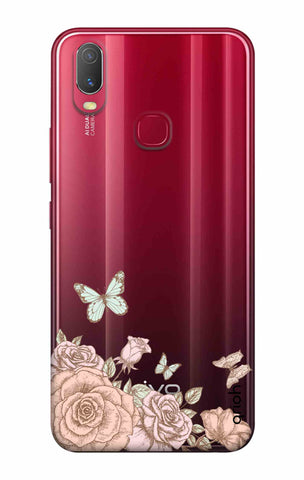 Flower And Butterfly Vivo Y11 2019 Cases & Covers Online