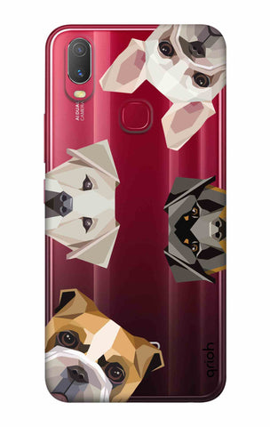Geometric Dogs Vivo Y11 2019 Cases & Covers Online