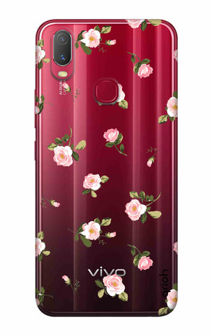 Pink Rose All Over Vivo Y11 2019 Cases & Covers Online