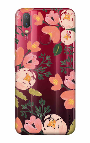 Painted Flora Vivo Y11 2019 Cases & Covers Online