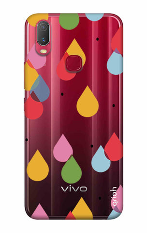 Colourful Drops Vivo Y11 2019 Cases & Covers Online