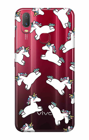 Jumping Unicorns Vivo Y11 2019 Cases & Covers Online