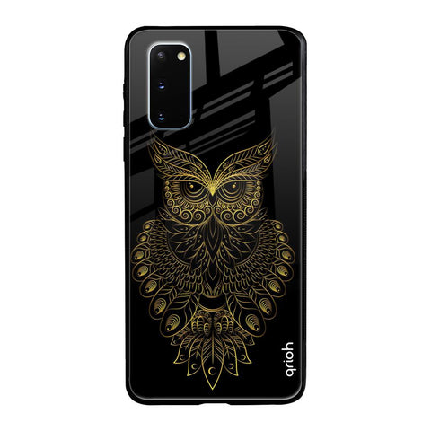 Golden Owl Samsung Galaxy S20 Glass Cases & Covers Online
