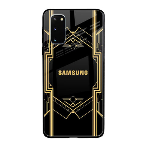 Sacred Logo Samsung Galaxy S20 Glass Cases & Covers Online
