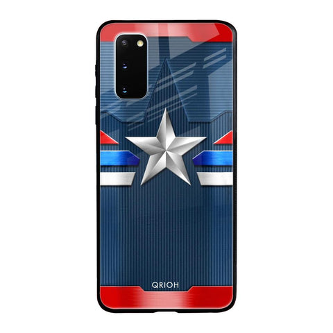 Brave Hero Samsung Galaxy S20 Glass Cases & Covers Online