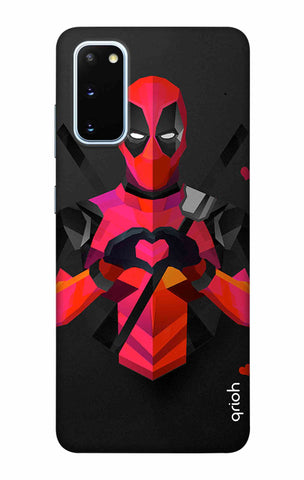Valentine Deadpool Samsung Galaxy S20 Cases & Covers Online