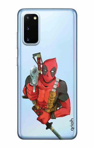 Deadpool Warrier Samsung Galaxy S20 Cases & Covers Online