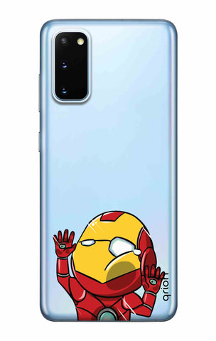 Iron Man Wall Bump Samsung Galaxy S20 Cases & Covers Online