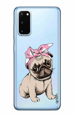Pink Puggy Samsung Galaxy S20 Cases & Covers Online