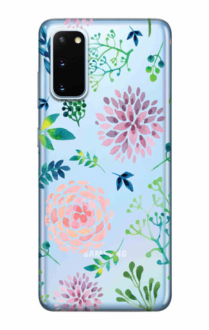 Lillies, Orchids And Leaves Samsung Galaxy S20 Cases & Covers Online
