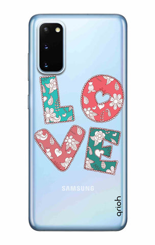 Love Text Samsung Galaxy S20 Cases & Covers Online