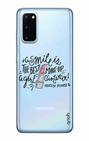 Make Up Smile Samsung Galaxy S20 Cases & Covers Online