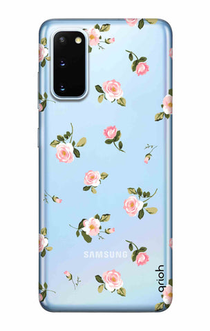 Pink Rose All Over Samsung Galaxy S20 Cases & Covers Online