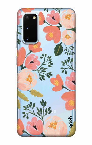 Painted Flora Samsung Galaxy S20 Cases & Covers Online