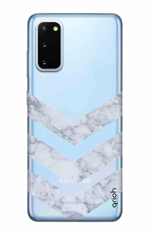 Marble Chevron Samsung Galaxy S20 Cases & Covers Online