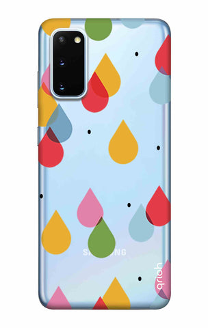 Colourful Drops Samsung Galaxy S20 Cases & Covers Online