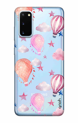 Flying Balloons Samsung Galaxy S20 Cases & Covers Online