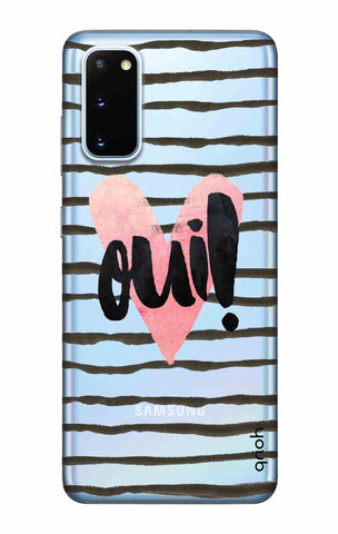 Oui! Samsung Galaxy S20 Cases & Covers Online